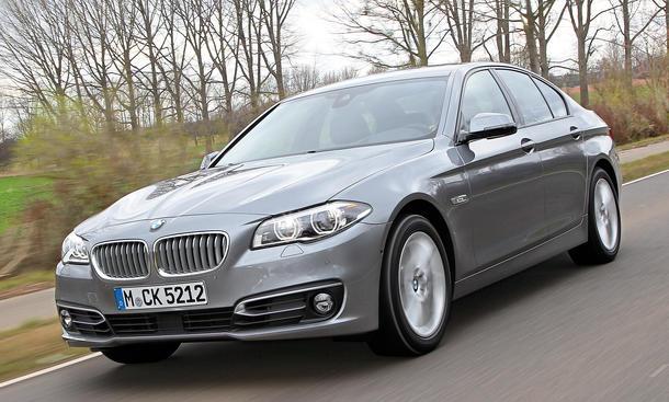 Bilder BMW 530d Oberklasse Limousinen Vergleich