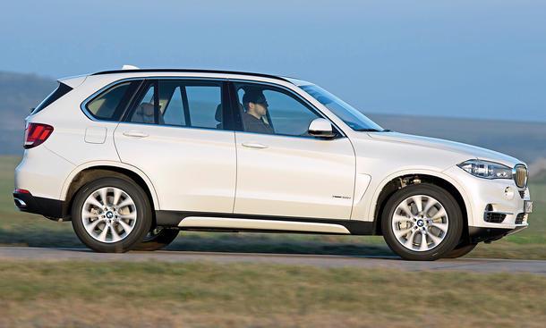Bilder BMW X5 xDrive50i SUV-Vergleich Fahrkomfort