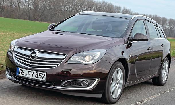 Bilder Opel Insignia Sports Tourer 1.6 DI Turbo ecoFLEX Mittelklasse-Kombis Fahrstabilität