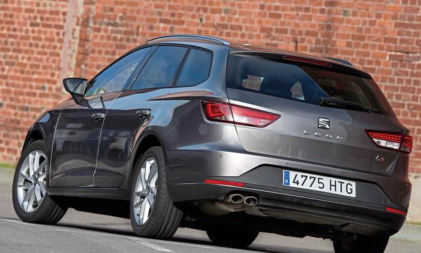 Bilder Seat Leon ST 2.0 TDI Diesel-Kombis