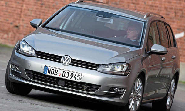 Bilder VW Golf Variant 2.0 TDI BlueMotion Technology Diesel-Kombis