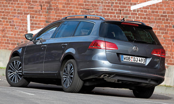 Bilder VW Passat Variant 2.0 TDI BlueMotion Technology Diesel-Kombis