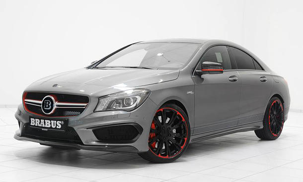 brabus mercedes cla 45 amg tuning f r die sportversion. Black Bedroom Furniture Sets. Home Design Ideas