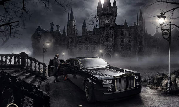 Rolls-Royce Phantom Abyss Carlex Design Tuning Gothic Luxus-Limousine