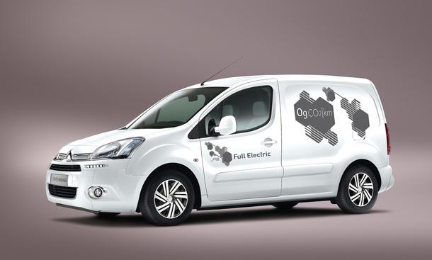 Citroen Berlingo Electric Elektroauto Preise Marktstart 2014 Kastenwagen