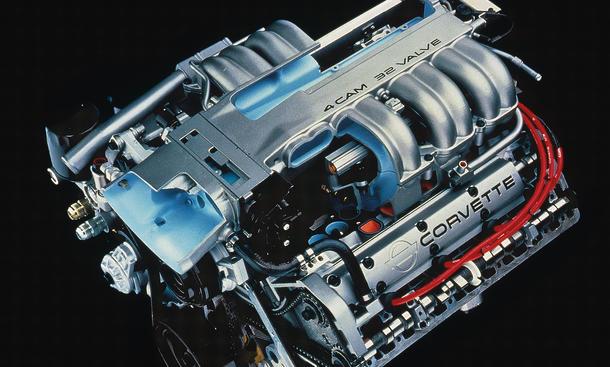 Covrvette C4 ZR-1 V8 Motor Bilder