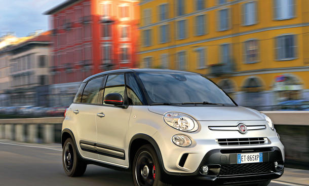 Fiat 500L Beats Edition Fahrbericht Bilder technische Daten