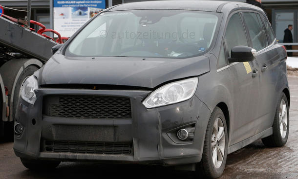 2014 - [Ford] C-Max Restylé - Page 2 Ford-C-Max-Facelift-Erlkoenig-2014-01