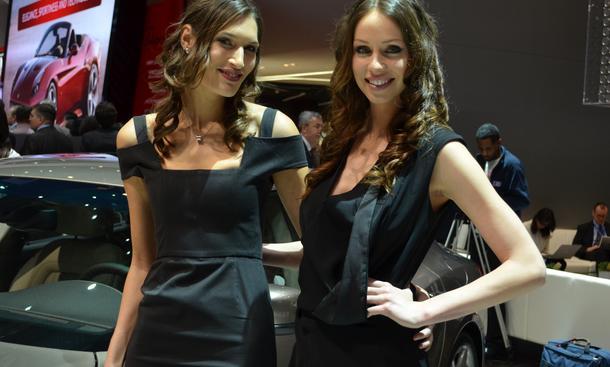 Cars & Girls 2014 Genfer Autosalon Automesse Hostessen