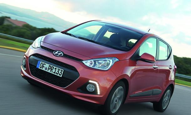 Hyundai i10 1.0 LPG Autogas Preis Marktstart Bilder Kleinwagen