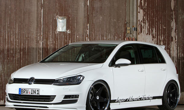 Ingo Noak VW Golf VII 1.4 TSI Tuning Leistungssteigerung Bodykit Spoiler