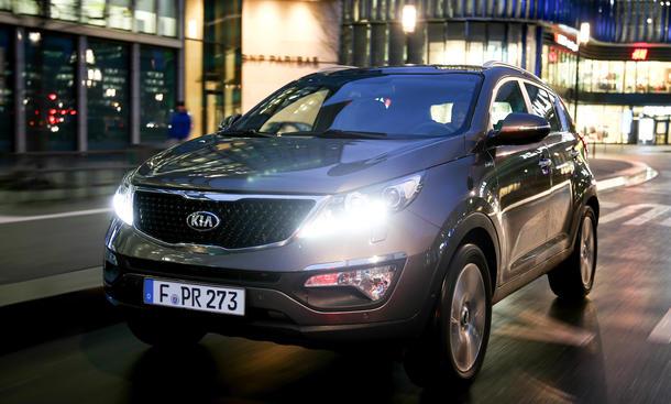 Kia Sportage Facelift 2014 2,0 Liter Benziner Motor SUV
