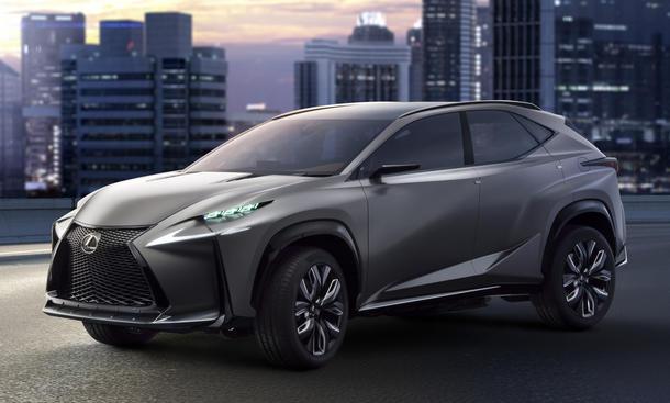 Bilder Lexus NX Kompakt-SUV Crossover Neuheiten Rendering Ausblick