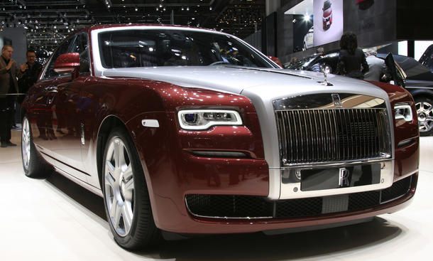 Luxus-Limousine Bilder Fotos Genfer Autosalon 2014 Bentley Rolls-Royce Mercedes