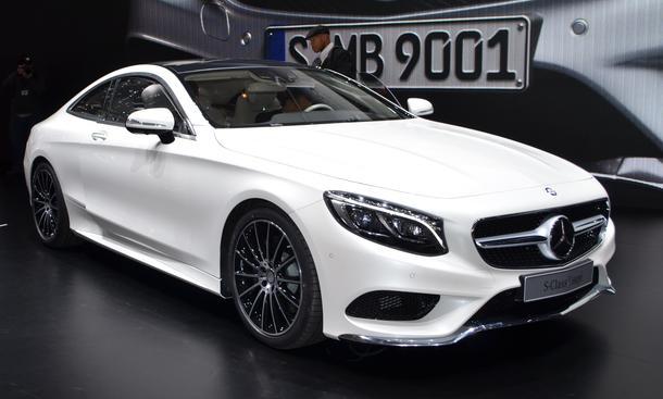 Mercedes S-Klasse Coupe 2014 Genfer Autosalon Live-Bilder Oberklasse Luxus