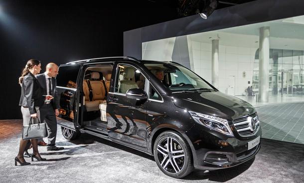 Mercedes V-Klasse 2014 Viano Nachfolger Preis Diesel Van