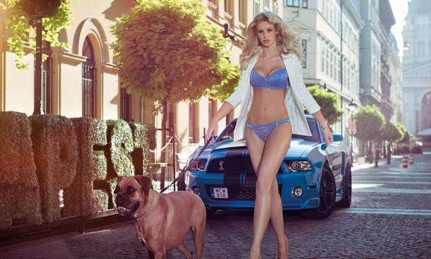 Miss Tuning Kalender 2014 März Erotik Cars and Girls