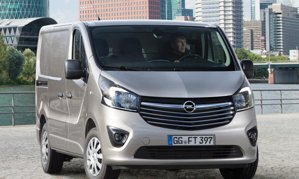 opel vivaro 2014 marktstart und bilder. Black Bedroom Furniture Sets. Home Design Ideas