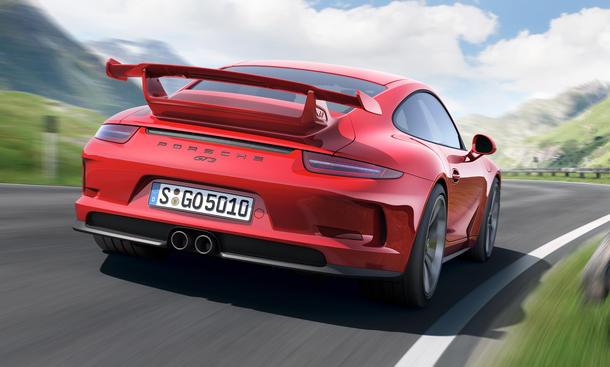 Porsche 911 GT3 Rückruf Neue Motoren Sportwagen Feuer