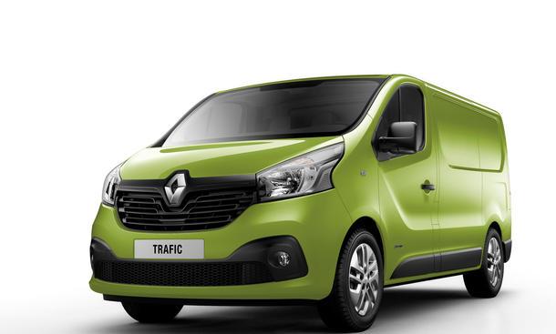 Renault Trafic 2014 Transporter Neuheit Langversion Premiere Nutzfahrzeug