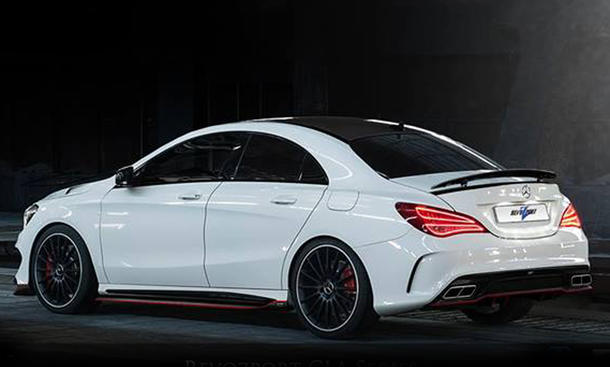 revozport mercedes cla 45 amg bodykit und neue spoiler. Black Bedroom Furniture Sets. Home Design Ideas
