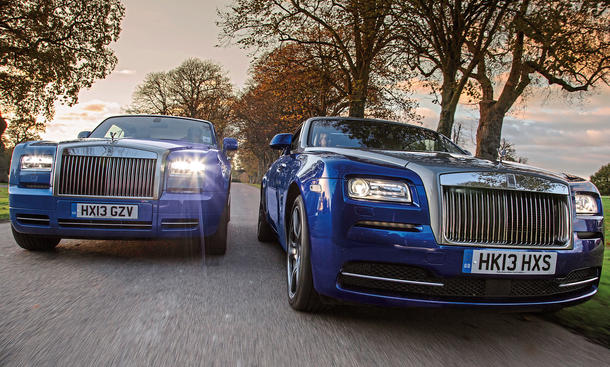 Rollys-Royce Wraith Phantom Coupe Faszination Auto Bilder technische Daten