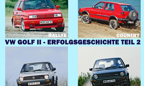 VW Golf II Special Historie Bilder technische Daten