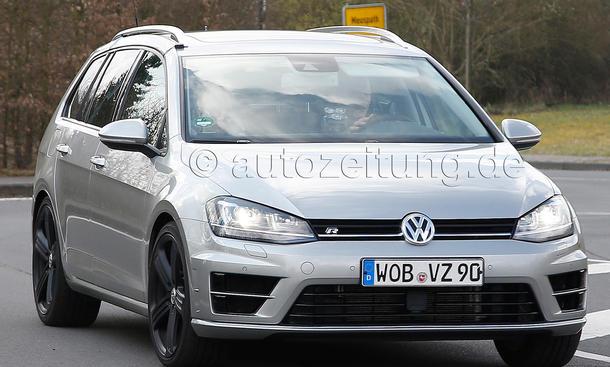 VW Golf R Variant 2014 Erlkoenig Power-Kombi MQB VII