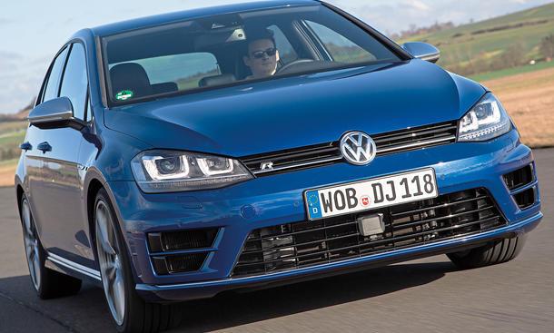 Bilder VW Golf R Kompaktsportler Handling Komfort