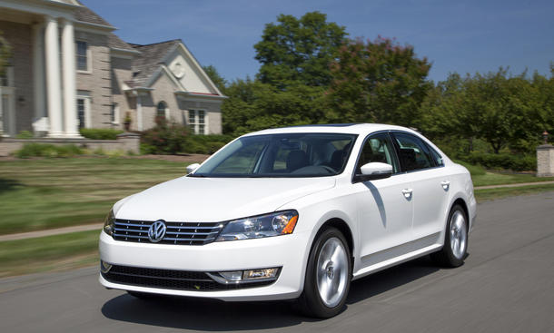 VW Passat USA Kanada Rückruf 2014 Scheinwerfer Nordamerika 160.000 Modelle