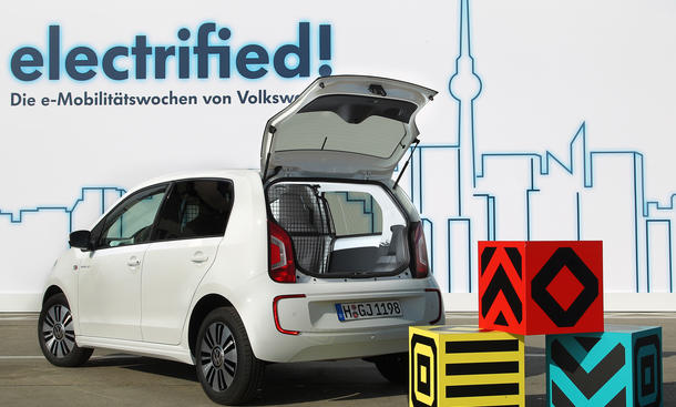 vw load up stadt lieferwagen mit elektro antrieb k nnte. Black Bedroom Furniture Sets. Home Design Ideas