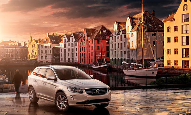 Volvo XC60 V70 Modelljahr 2015 Änderungen Inscription Sensus Connect