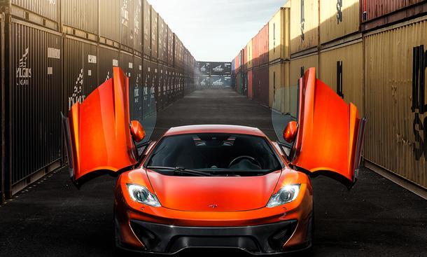 vorsteiner mclaren mp4 vx: tuning mit carbon-bodykit | autozeitung.de