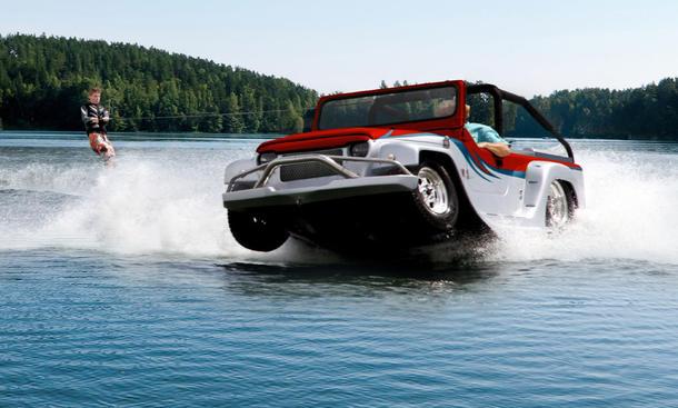 Watercar Panther Amphibienfahrzeug 2014 Preis technische Daten Marktstart Fountain Valley Bodyworks