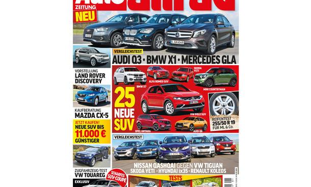 AUTO ZEITUNG Allrad 02/2014 Vorschau Cover