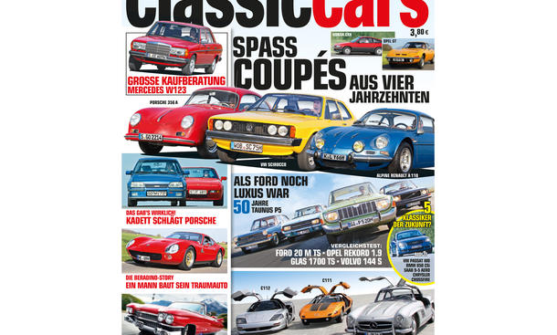 AUTO ZEITUNG Classic Cars 05 2014 Heft Vorschau Cover