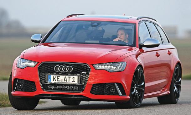 Abt Audi RS 6 Avant Test Bilder technische Daten
