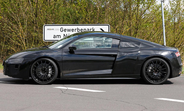 2015 - [Audi] R8 II / R8 II Spider - Page 2 Audi-R8-2015-Erlkoenig-Coupe-Supersportler-04