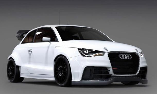 Audi S1 EKS RX Concept 2014 Rallyecross-WM Kleinwagen Premiere