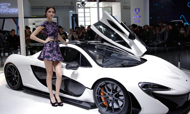Messe-Girls 2014 Auto China Schönheiten Galerie Hostessen Live-Bilder