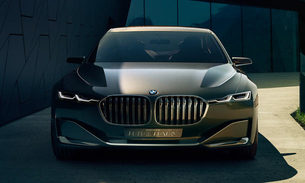 BMW Vision Future Luxury 2014 Peking Luxus Studie 7er