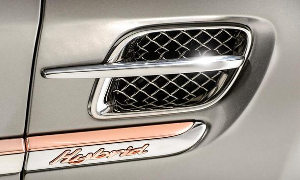 Bentley Mulsanne Hybrid Concept 2014 Peking Auto China