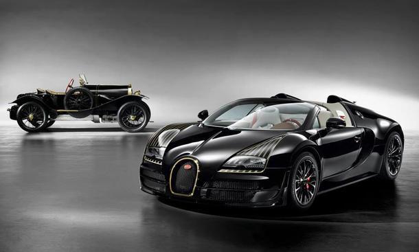 Bugatti Veyron 16.4 Grand Sport Vitesse Black Bess Sondermodell 2014