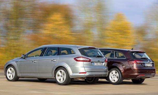 Ford Mondeo Turnier Opel Insignia Sports Tourer Bilder Markenvergleich