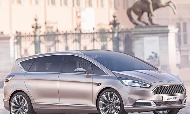 Ford S-Max Vignale Concept 2014 Van Studie Luxus-Ausstattung Bilder Familienauto