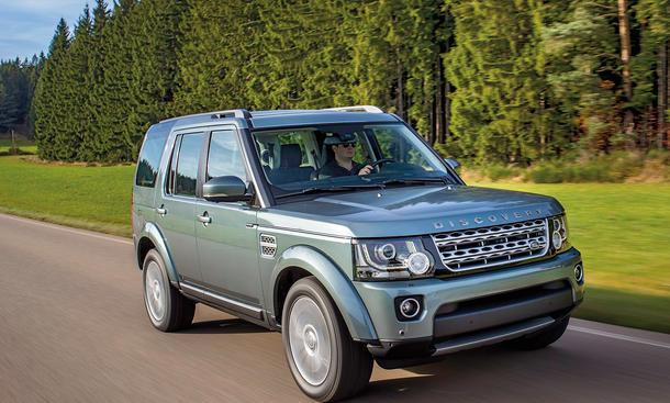 Land Rover Discovery TDV6 Test Bilder technische Daten