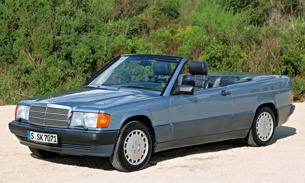 [Présentation] Le design par Mercedes - Page 4 Mercedes-190-E-W201-Cabrio-Jubilaeum-02