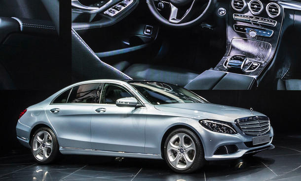 Mercedes C-Klasse L Langversion 2014 Peking China Lang-Version