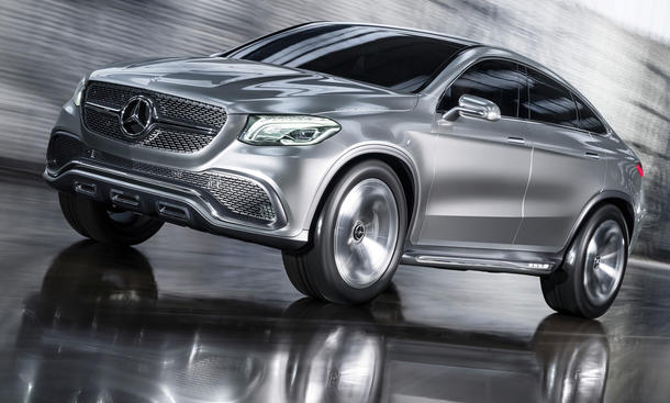 Mercedes MLC 2015 SUV Coupe Auto China 2014 Peking Studie X6-Gegner