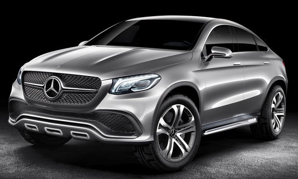 Mercedes Coupe SUV Concept 2014 MLC SUV-Coupé Auto China Peking Studie